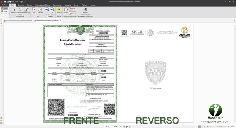 MasterCURP - Verifica e Imprime CURP a un Solo Click - Elohim Soft ...